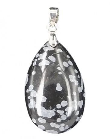 hanger sneeuwvlok obsidiaan