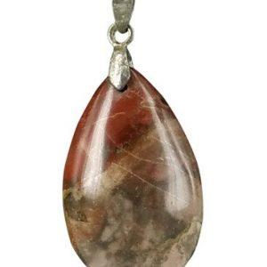 The drop of Jaspis bruin - hanger