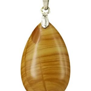 The drop of Jaspis geel - hanger